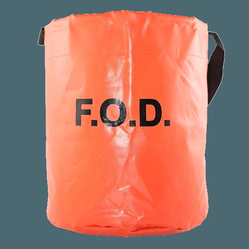 Vinyl Coated Nylon Fod Tool Bucket With Fod Logo Fod