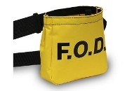 Yellow Vinyl FOD Bag 7100