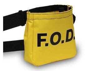 Yellow Vinyl FOD Bag 7100