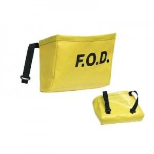 Yellow Vinyl FOD Bag 8000