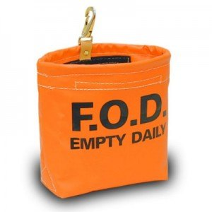Orange Vinyl FOD Bag 7600